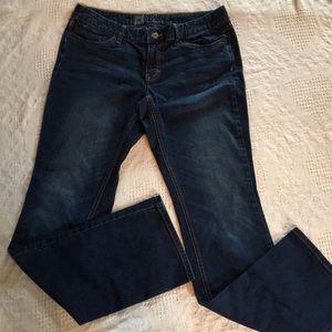 Mossimo Woman Bootcut Premium Denim Jeans 12L Fit3